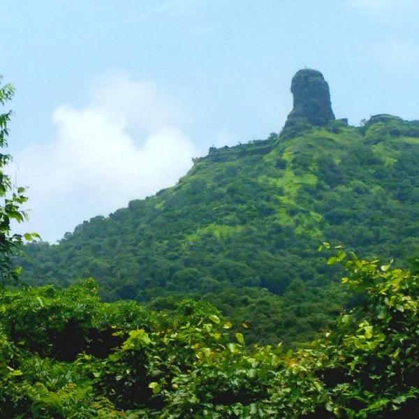 Karnala Fort during monsoons