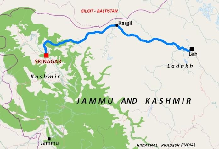 From Srinagar to Leh