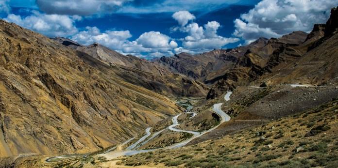 Route to ladakh