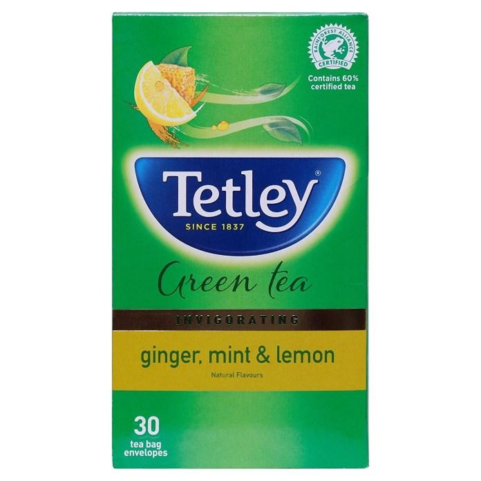 Herbal Tea Brand Tetley Green