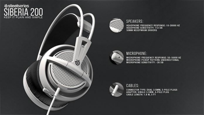 Gaming Headset Steel Series Siberia 200