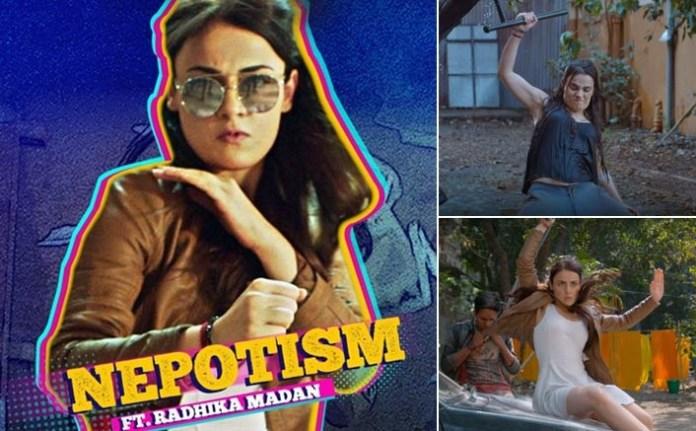 radhika madan kicks some serious