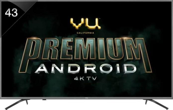 VU premium Android 4K TV 43-OA