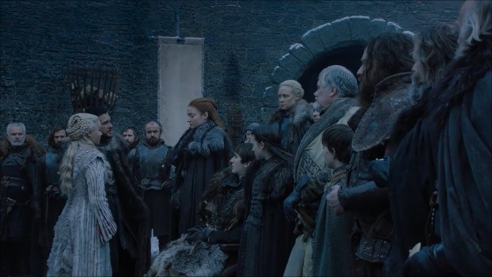 Sansa and Danny face off for the very first time