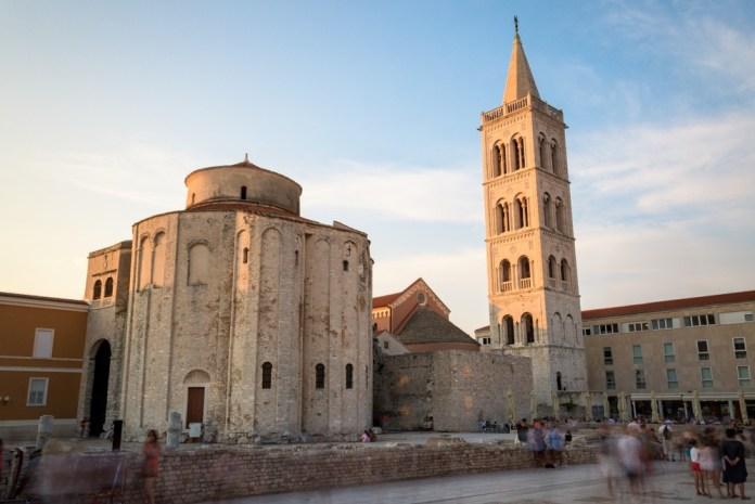 St Donatus,Church Croatia