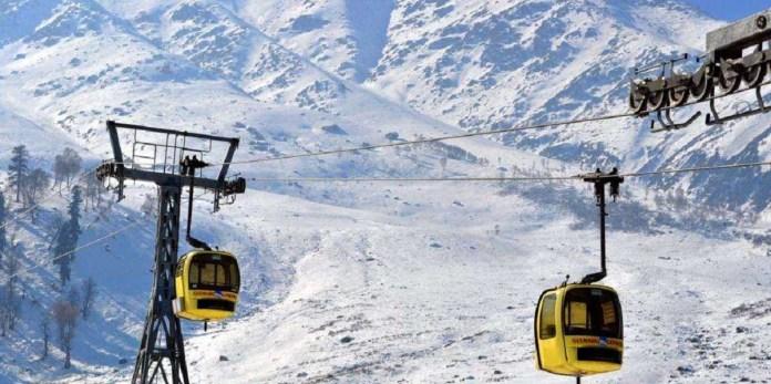 Gondola Gulmarg-Places to visit in Kashmir