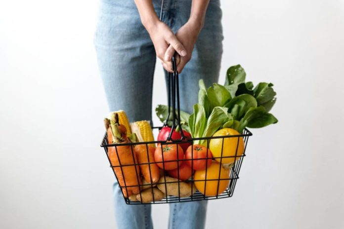 Bucket of Helathy Vegetables
