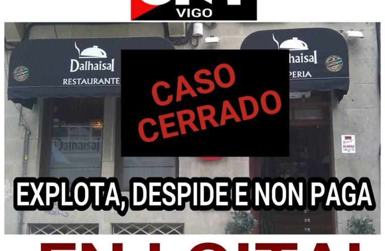 FINALIZACIÓN DO CONFLICTO CO RESTAURANTE DALHAISAL