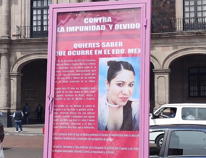 ¿Cuánto más tardará la justicia para Eugenia?, reclaman familiares