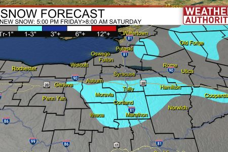 Syracuse Maps   News  Weather  Sports  Breaking News   WSTM Forecast Snow CNY jpg