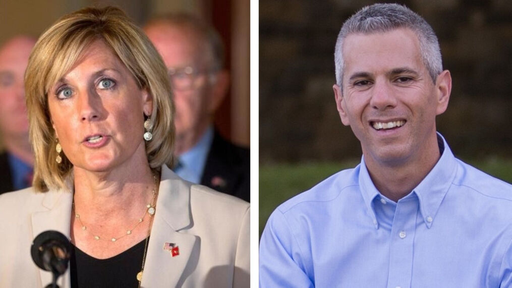 Claudia Tenney and Rep. Anthony Brindisi are in a tight rematch for NY-22 (file photos)<p>{/p}