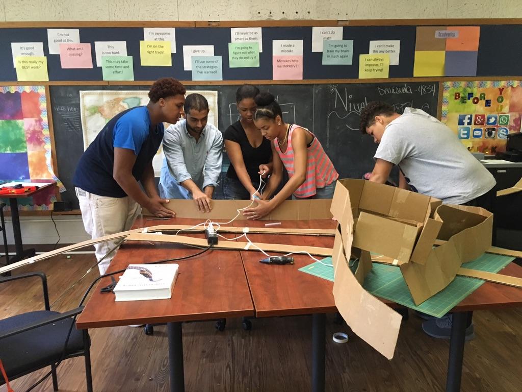 New Experiences Introduce Syracuse Teens To Future