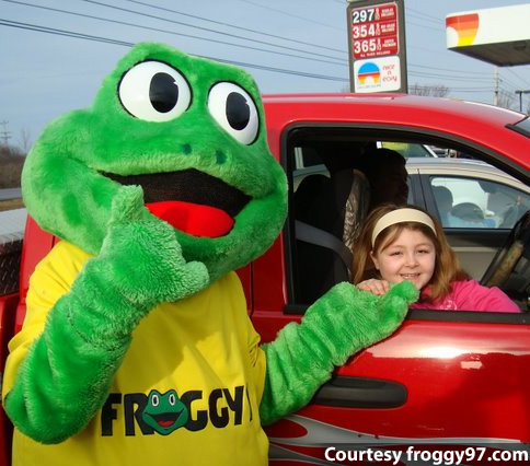 Mr. Froggy and Cheap Gas