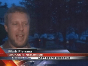 Courtesy 9WSYR.com: Mark Piersma interviewed by Syracuse ABC affiliate WSYR-TV. (He also appeared on WSTM/WSTQ/WTVH and WKTV, but we were unable to view video on their websites this morning.)