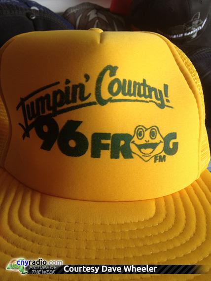 POTW 8/3/12 - 96 Frog trucker hat, WFRG