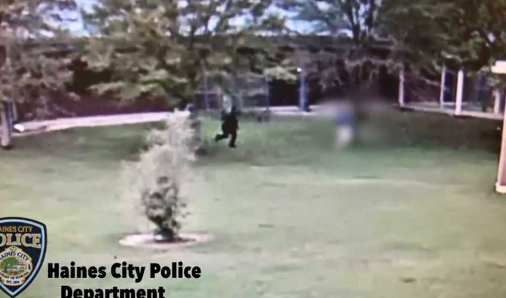 WATCH: Substitute teacher attacks one student, chases another outside