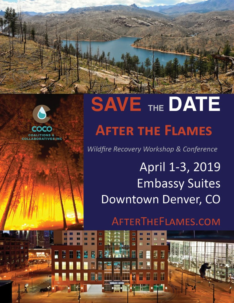 After The Flames Workshop & Conference Save the Date Image