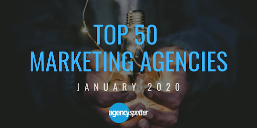 top 50 marketing agencies report
