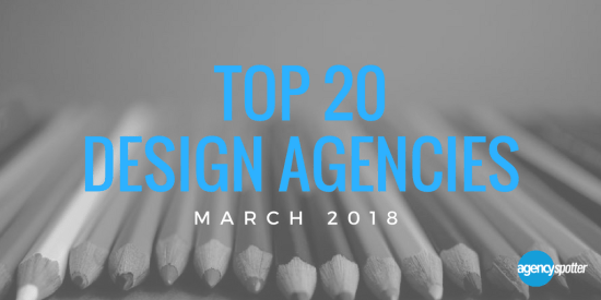 Agency spotter top 20 design agencies march 2018