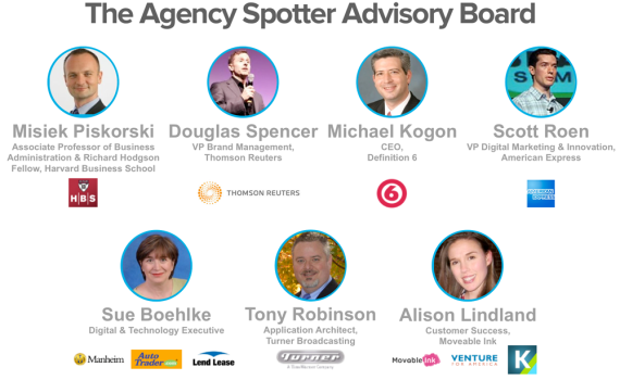 The Agency Spotter Advisory Board April 2013
