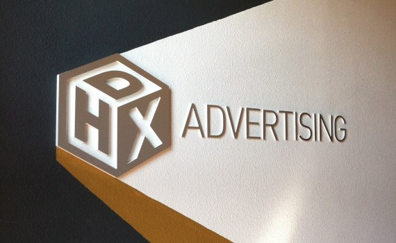 The logo of Portland advertising agency DHX