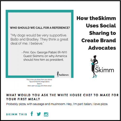 How theSkimm Uses Social Sharing to (1)