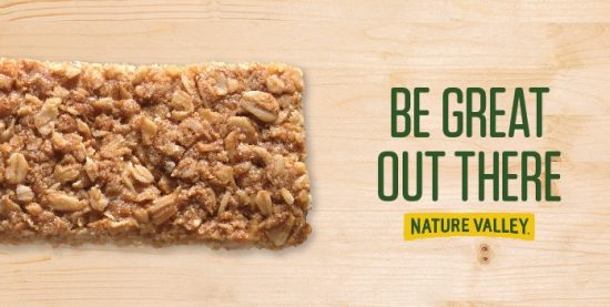 nature valley being good campaign