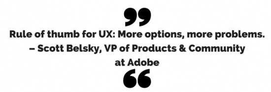 scott belsky adobe user experience quote