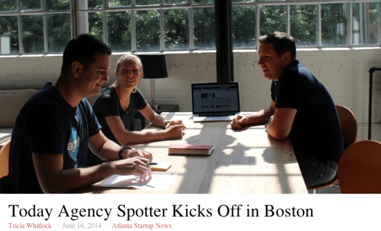 Hypepotamus covers Agency Spotter's Boston Launch