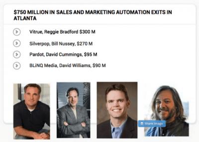 Atlanta Sales and Marketing Exits via @TechSquare