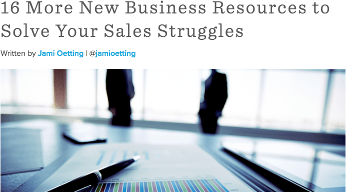 New Business Resources on AgencyPost