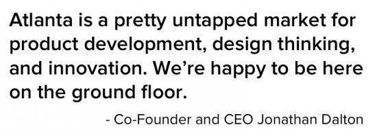 What Thrive CEO Jonathan Dalton has to say about Atlanta.