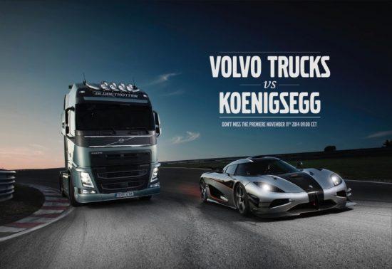 spoon content marketing with volvo trucks & koenigsegg
