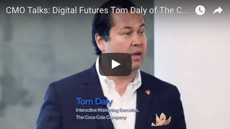 CMO Talks Digital Futures Tom Daly Coca-Cola