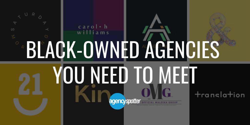 Black-owned agencies