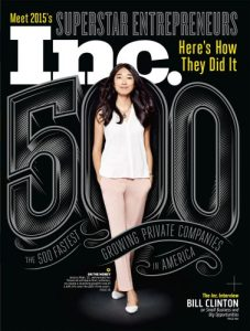 2015 Inc. Magazine 500 List