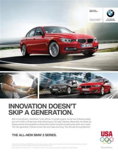 matlock advertising bmw campaign