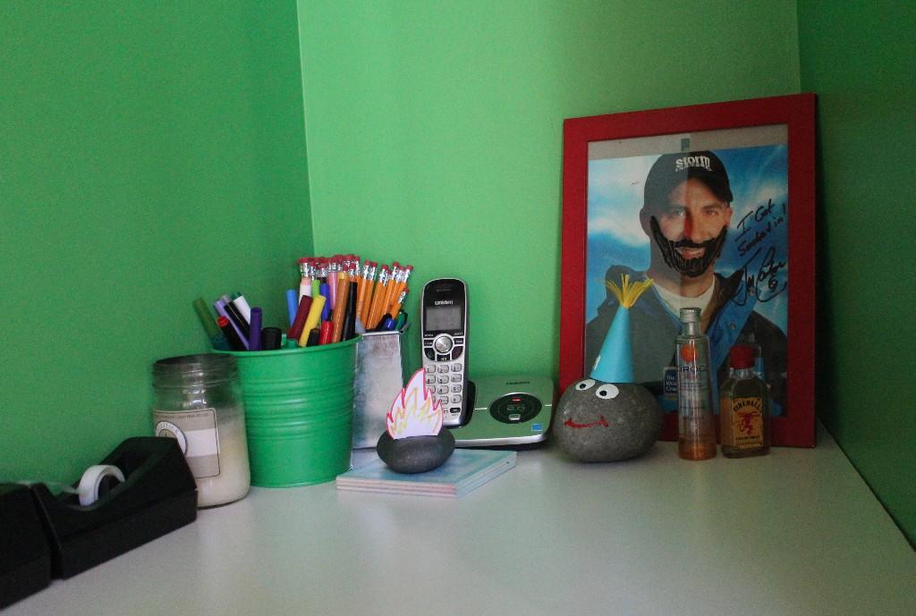 Desk schwag
