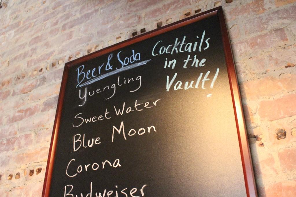 Beverages at breensmith