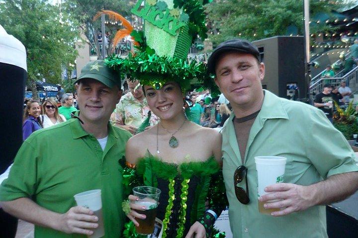 breensmith enjoys St. Patrick's Day