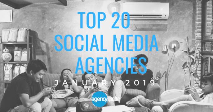 top social media marketing agencies report 2019