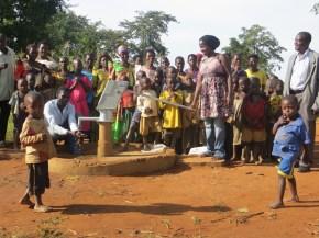 Nansohera community after the repair