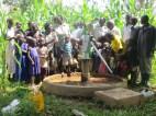 Kiganda B community after the repair