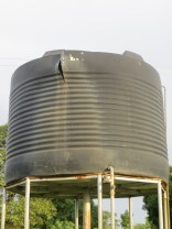 Damaged Water Tank