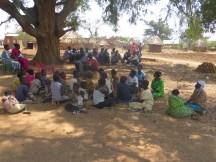 Bukayale community attending WASH