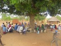 Budumba community attending WASH