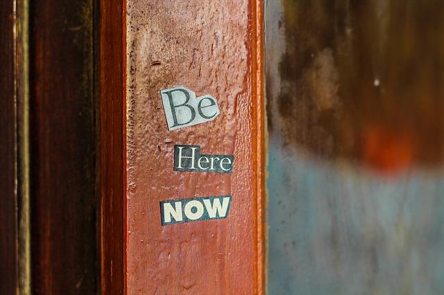 Akzeptanz bringt dich ins Hier und Jetzt