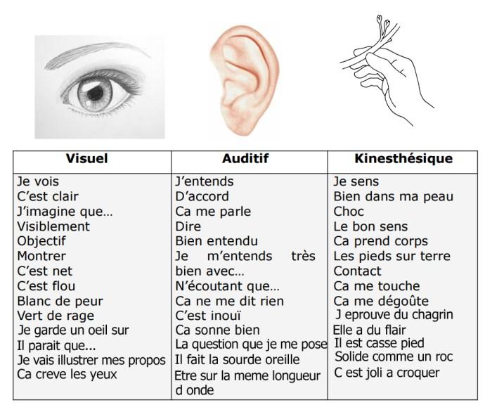 Visuel-Auditif-Kinesthésique