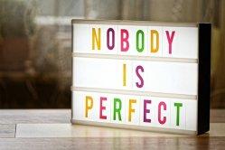 Accepter d'être imparfait(e)
