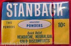 Stanback Powder